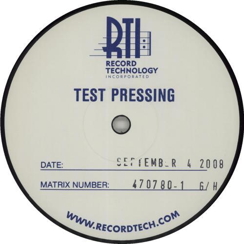 Metallica ...And Justice For All - Test Pressing 4-LP vinyl album set (4 records) US MET4LAN682197