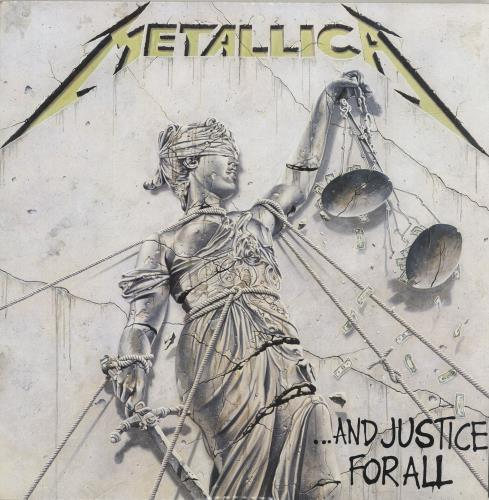 Metallica ...And Justice For All 2-LP vinyl record set (Double Album) Spanish MET2LAN688734