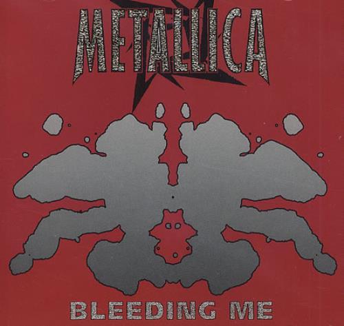 "Metallica Bleeding Me CD single (CD5 / 5"") US METC5BL88710"