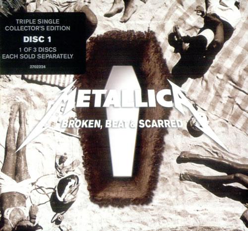 "Metallica Broken, Beat & Scarred - CD1 + Digi - Sealed CD single (CD5 / 5"") German METC5BR529442"