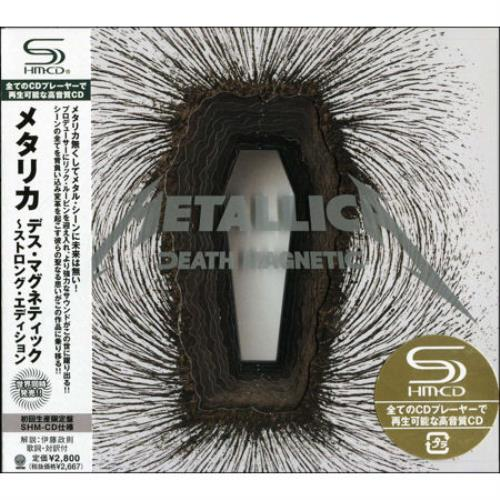 Metallica Death Magnetic SHM CD Japanese METHMDE440711