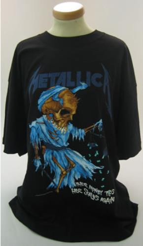 Metallica Doris T-Shirt - XL t-shirt UK METTSDO373794