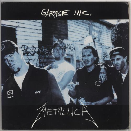 Metallica Garage Inc. - EX 3-LP vinyl record set (Triple Album) US MET3LGA734453