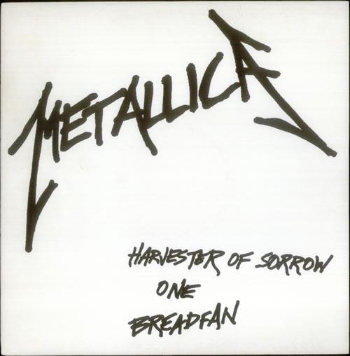 "Metallica Harvester Of Sorrow - The 6½ Year Anniversary Live E.P 12"" vinyl single (12 inch record / Maxi-single) UK MET12HA124704"