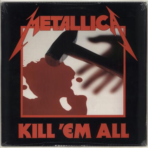 Metallica Kill 'Em All - Columbia Record Club - Sealed vinyl LP album (LP record) US METLPKI715872