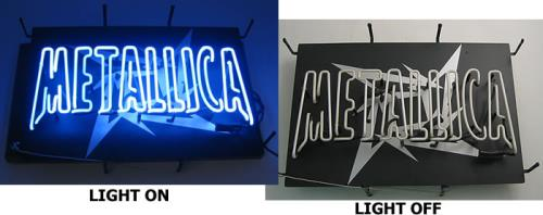 Metallica Load Neon Sign - US memorabilia US METMMLO409735