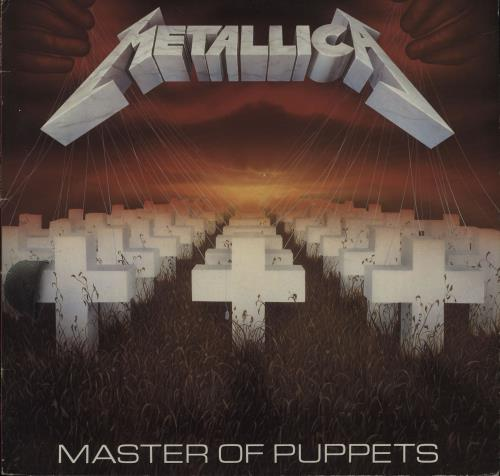 Metallica Master Of Puppets - Glossy Sleeve vinyl LP album (LP record) UK METLPMA654179