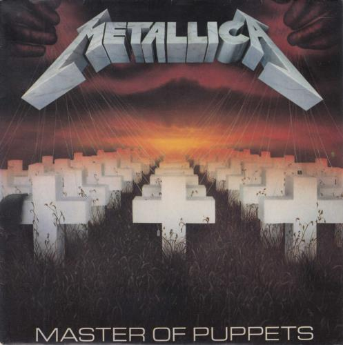 "Metallica Master Of Puppets 7"" vinyl single (7 inch record) French MET07MA248216"