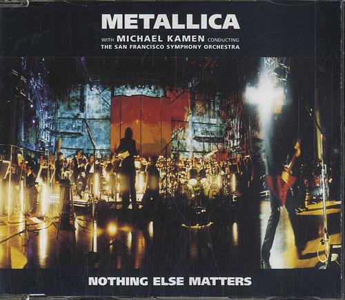 "Metallica Nothing Else Matters CD single (CD5 / 5"") German METC5NO577885"
