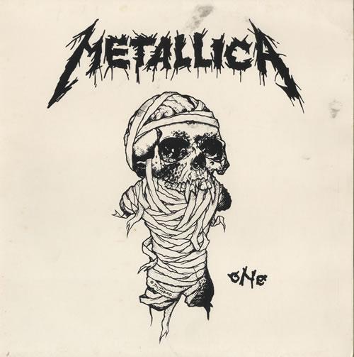Metallica One Uk Promo 12 Quot Vinyl Single 12 Inch Record