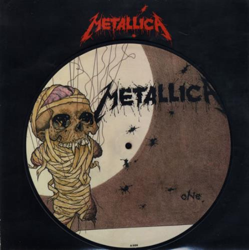 "Metallica One 10"" Vinyl Picture Disc (10"" Record Single) UK MET1PON00988"