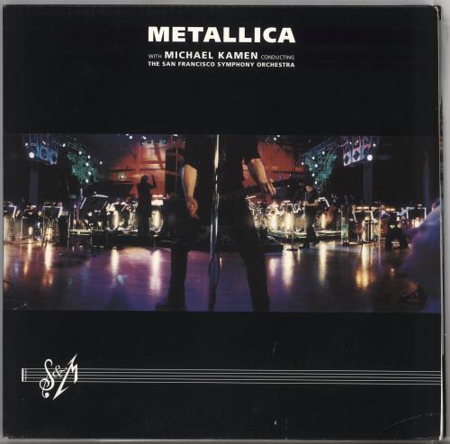 Metallica S&M 3-LP vinyl record set (Triple Album) US MET3LSM243478