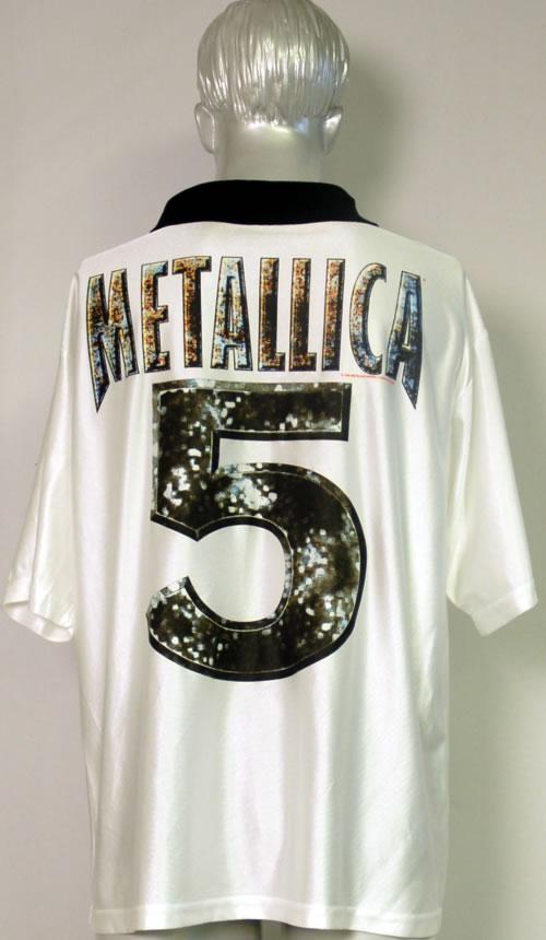 Metallica Soccer Shirt clothing US METMCSO606295