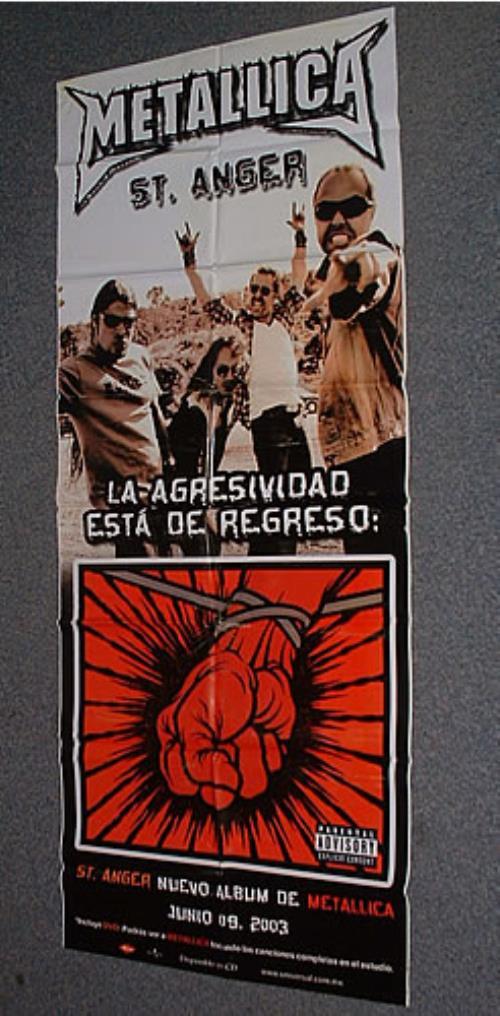 Metallica St Anger display Mexican METDIST253094