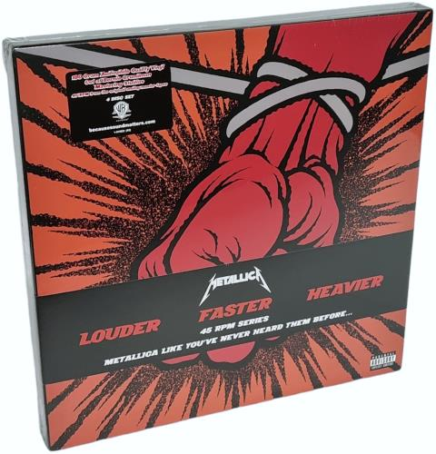 Metallica St. Anger - Orange - 180Gm - Sealed Vinyl Box Set US METVXST583077