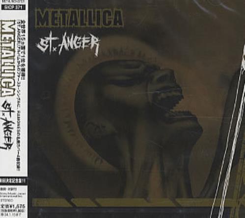 """Metallica St.Anger CD single (CD5 / 5"""") Japanese METC5ST242718"""