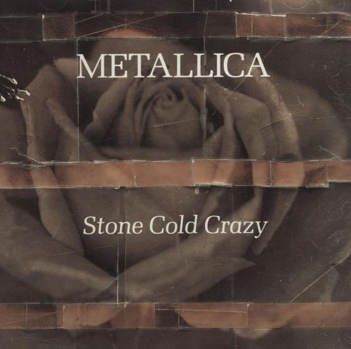 "Metallica Stone Cold Crazy CD single (CD5 / 5"") US METC5ST79399"
