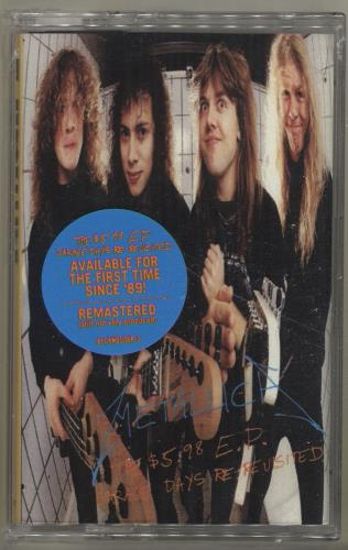 Metallica The $5.98 E.P.: Garage Days Re-Revisited - Sealed cassette single US METCMTH694478