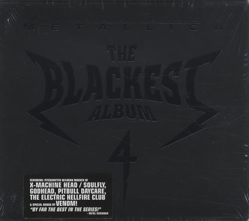 Metallica The Blackest Album 4: An Industrial Tribute CD album (CDLP) US METCDTH446392