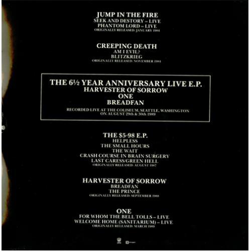 Metallica The Good The Bad & The Live - sealed Vinyl Box Set UK METVXTH283727