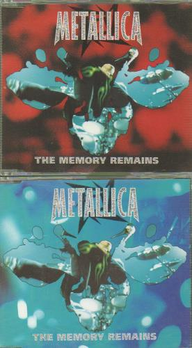 Metallica The Memory Remains 2-CD single set (Double CD single) UK MET2STH178600