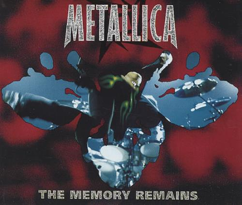 "Metallica The Memory Remains CD single (CD5 / 5"") UK METC5TH97603"
