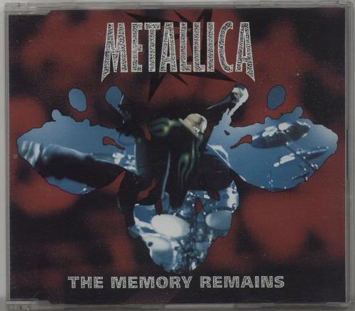 """Metallica The Memory Remains CD single (CD5 / 5"""") UK METC5TH97754"""