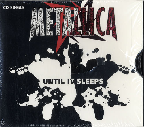 "Metallica Until It Sleeps CD single (CD5 / 5"") US METC5UN64826"