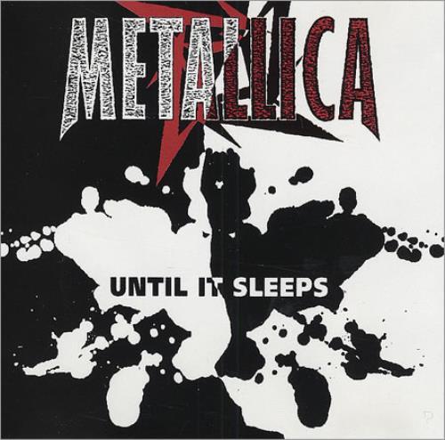 "Metallica Until It Sleeps CD single (CD5 / 5"") US METC5UN66541"