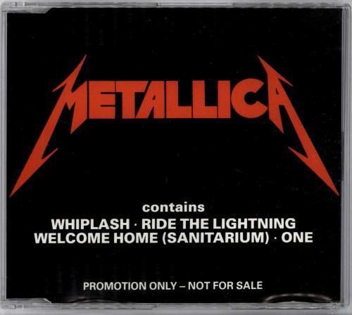 "Metallica Whiplash Sampler CD single (CD5 / 5"") UK METC5WH09028"