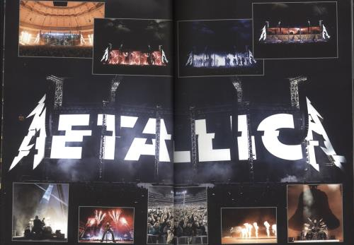 Metallica Worldwired Tour 2016/17/18 tour programme UK METTRWO687002