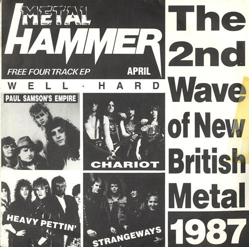 "Metal Hammer Magazine 2nd Wave Of New British Metal 7"" vinyl single (7 inch record) UK OG307ND01523"