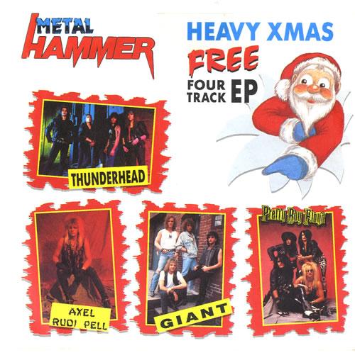 "Metal Hammer Magazine Metal Hammer EP - Heavy Xmas 7"" vinyl single (7 inch record) UK OG307ME558791"