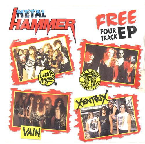 "Metal Hammer Magazine Metal Hammer EP 7"" vinyl single (7 inch record) UK OG307ME558793"