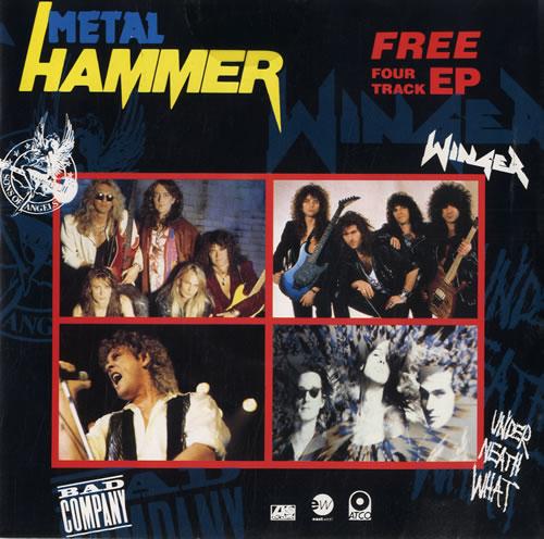 "Metal Hammer Magazine Metal Hammer EP 7"" vinyl single (7 inch record) UK OG307ME561660"