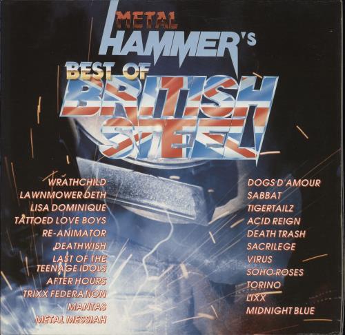 Metal Hammer Magazine Metal Hammer's Best Of British Steel 2-LP vinyl record set (Double Album) UK OG32LME623053