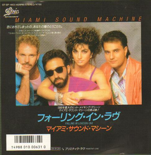 Miami Sound Machine-Falling In Love (Uh-Oh)/Primitive L | eBay