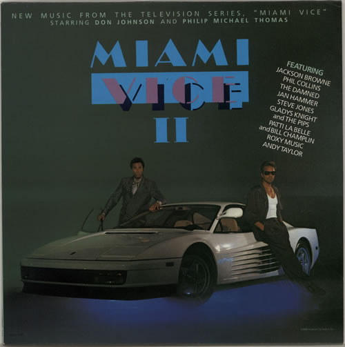 Miami Vice Miami Vice II vinyl LP album (LP record) UK MIVLPMI619211