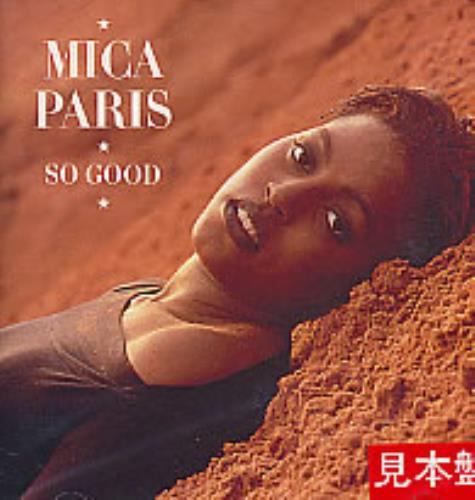 Mica Paris So Good CD album (CDLP) Japanese MICCDSO279788