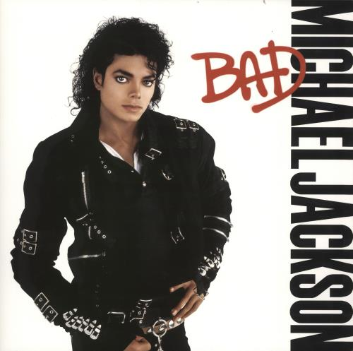 Michael Jackson Bad vinyl LP album (LP record) UK M-JLPBA716617
