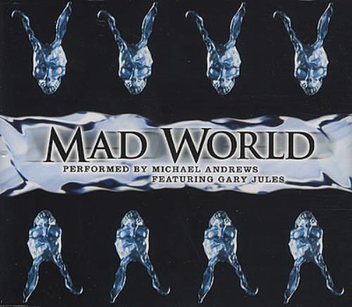 "Michael Andrews Mad World CD single (CD5 / 5"") UK MI1C5MA378523"