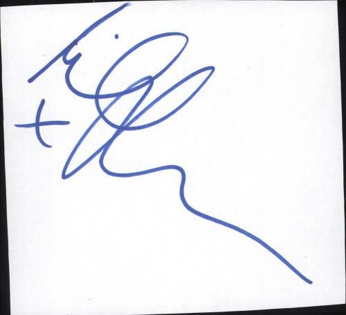 Michael Ball Autograph memorabilia UK MBAMMAU721197