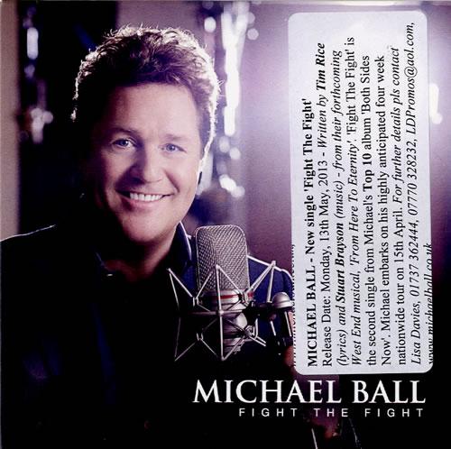 "Michael Ball Fight The Fight CD single (CD5 / 5"") UK MBAC5FI588117"