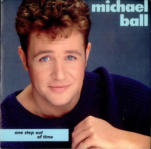 """Michael Ball One Step Out Of Time 7"""" vinyl single (7 inch record) UK MBA07ON520040"""
