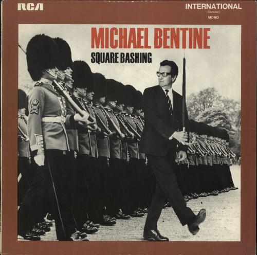 Michael Bentine Square Bashing vinyl LP album (LP record) UK LBELPSQ240649