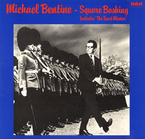 Michael Bentine Square Bashing vinyl LP album (LP record) UK LBELPSQ562060