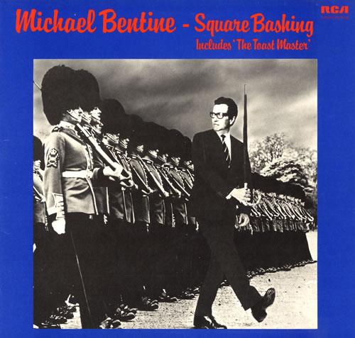 Michael Bentine Square Bashing vinyl LP album (LP record) UK LBELPSQ562060