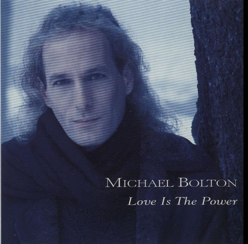 "Michael Bolton Love Is The Power CD single (CD5 / 5"") US BOLC5LO75808"