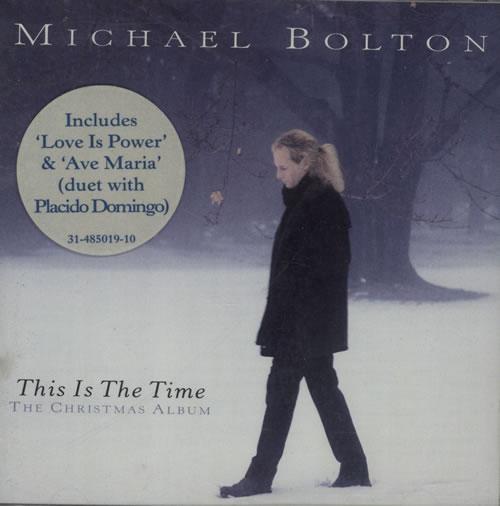 Michael Bolton This Is The Time CD album (CDLP) Australian BOLCDTH75376