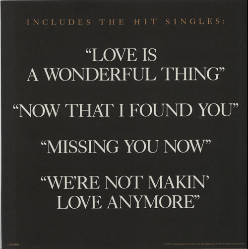 Michael Bolton Time, Love & Tenderness - Display Flats display UK BOLDITI634543